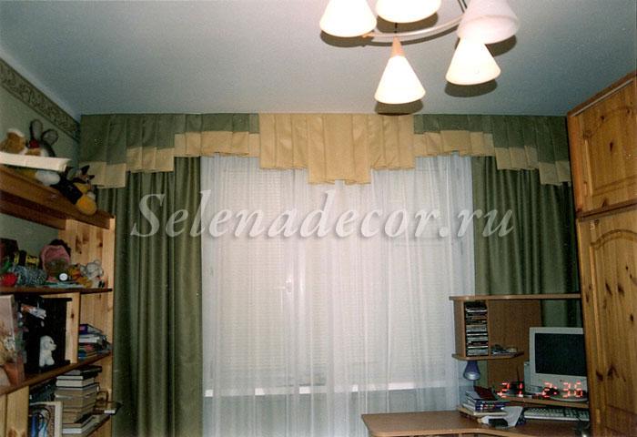 Пошив штор со складками