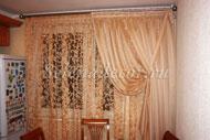 Дизайн штор на большое окно фото